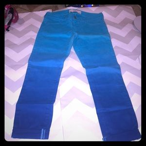 Royal Blue/Turquoise Soft Cuffed Skinny 5/27